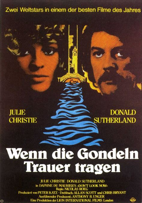 German Poster for Don't look now